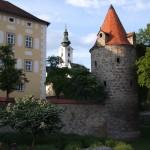 Dechanthofturm und Kirchturm